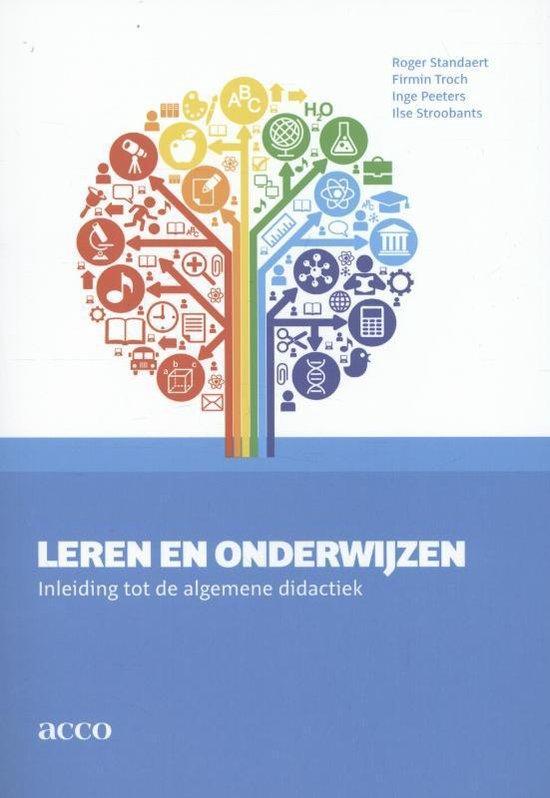 Leren en onderwijzen - Roger Standaert |