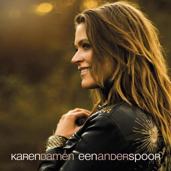 CD cover van Een Ander Spoor van Karen Damen