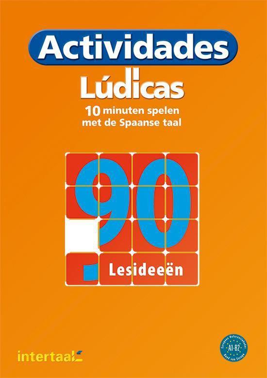 Actividades lúdicas - 10 minuten spelen met de Spaanse taal werkboek met kopieerbladen - Castell |