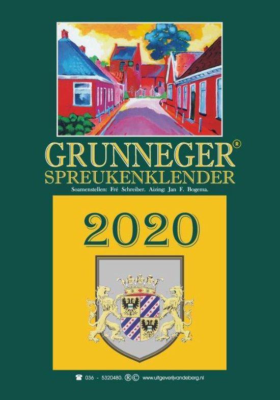 Grunneger spreukenklender 2020 - Fré Schreiber | Readingchampions.org.uk