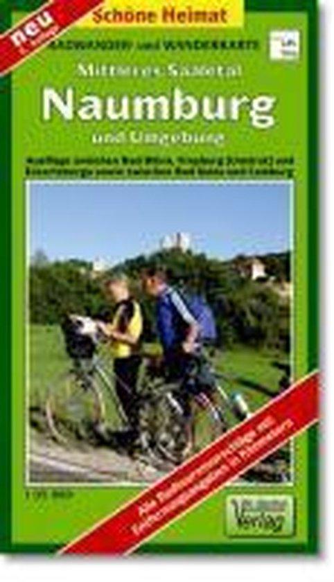 Radwander- und Wanderkarte Mittleres Saaletal Naumburg und Umgebung 1 : 35 000