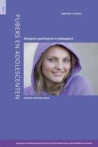 Pubers en adolescenten 4 Quadrilogie Ontwikkelingspsychologie en psychopathologie van kinderen en jongeren