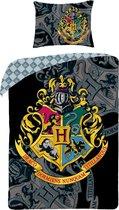 Harry Potter - Dekbedovertrek - Eenpersoons - 140 x 200 cm - Multi