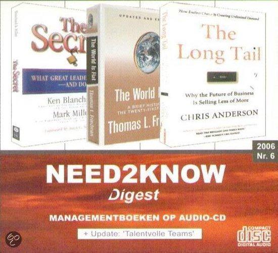 2006-6 Need2Know (luisterboek) - Kenneth Blanchard |