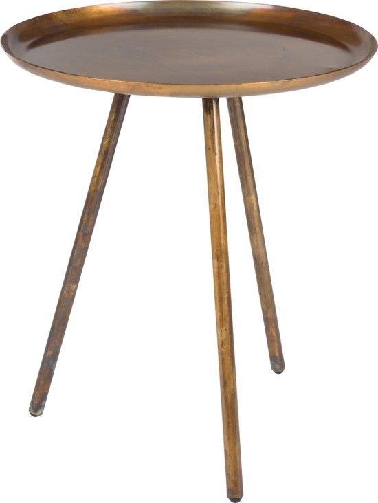 Vestbjerg - Side table Frost - Copper