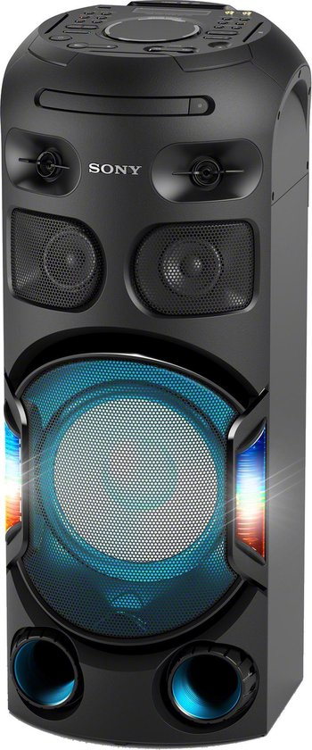 Sony MHC-V42D - Bluetooth Party Speaker - Zwart