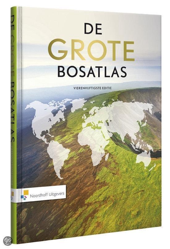Afbeelding van De Grote Bosatlas vmbo-havo-vwo