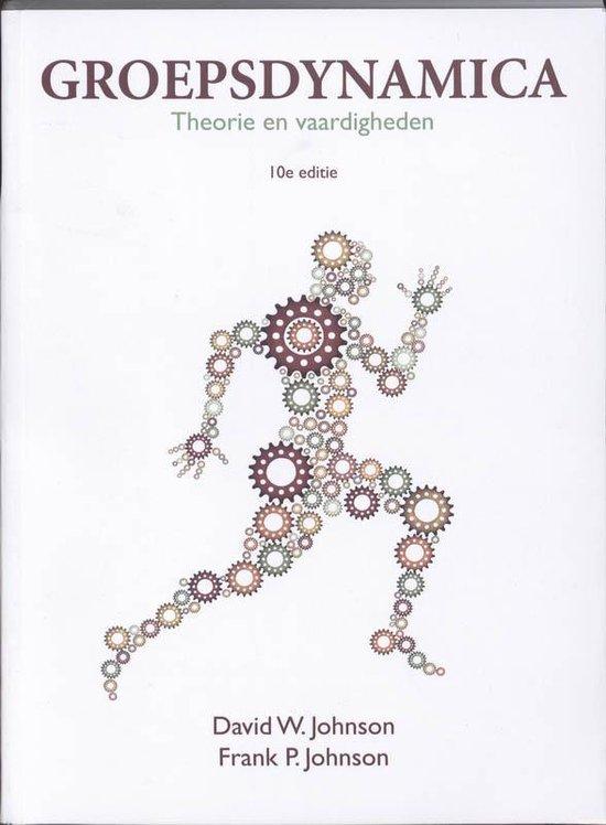 Groepsdynamica/ deel Theorie en Vaardigheden - Frank Jones |