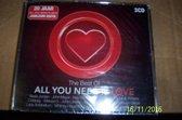 All you need is love - The best of 20 jaar - Jubileum editie