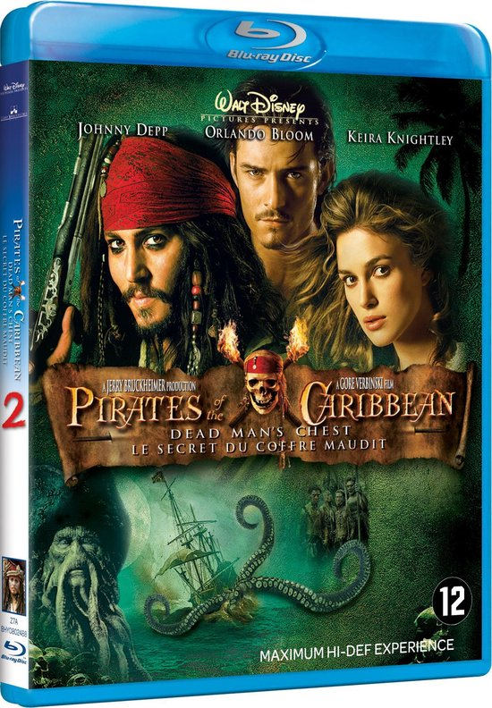 Pirates Of The Caribbean: Dead Man's Chest (Blu-ray) -