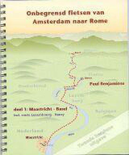 1 Maastricht-Basel Onbegrensd fietsen van Amsterdam naar Rome - Paul Benjaminse |
