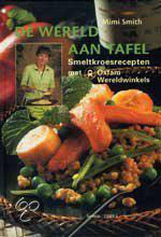 Cover van het boek 'De wereld aan tafel'