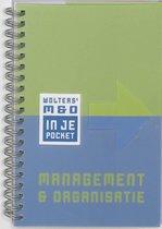 Wolters' Management & Organisatie In Je Pocket