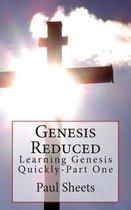Boek cover Genesis Reduced Part One van MR Paul T Sheets Jr