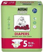 Eco Muumi Baby luiers maat 5 - 10-16 kg - 44 stuks - ecologisch