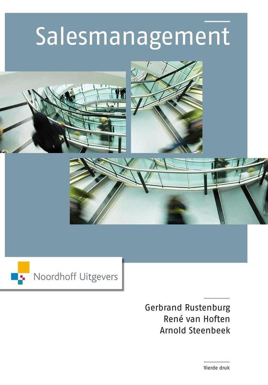 Salesmanagement - Gerbrand Rustenburg  