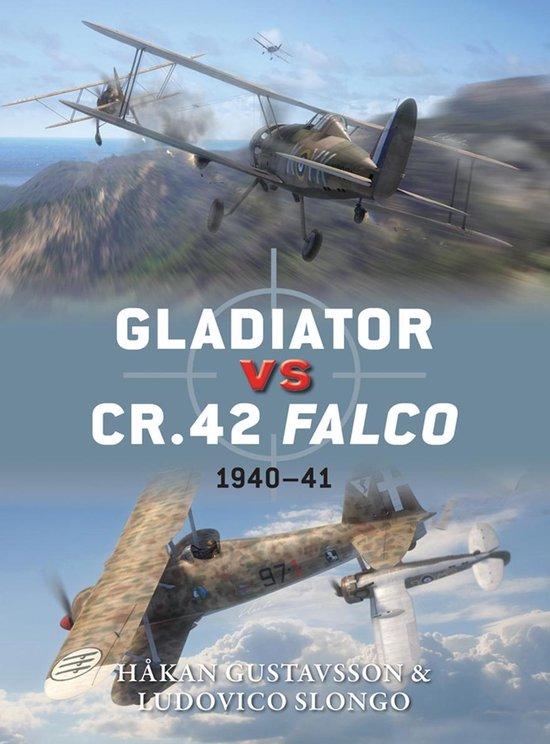 Boek cover Gladiator vs CR.42 Falco van Hakan Gustavsson (Onbekend)