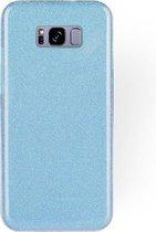Samsung Galaxy S8 Plus Hoesje - Glitter Backcover - Blauw