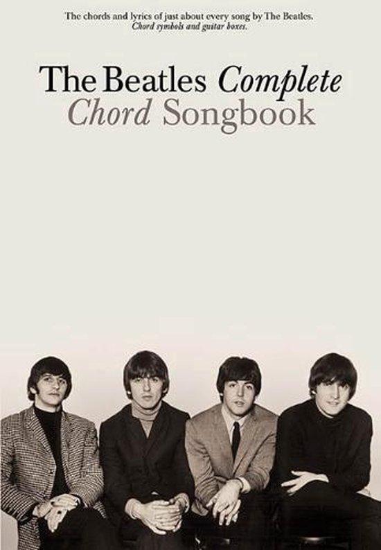 Afbeelding van The Beatles Complete Chord Songbook
