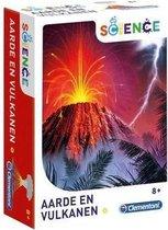 Clementoni Aarde en Vulkanen weteschap en spel wetenschapsspel