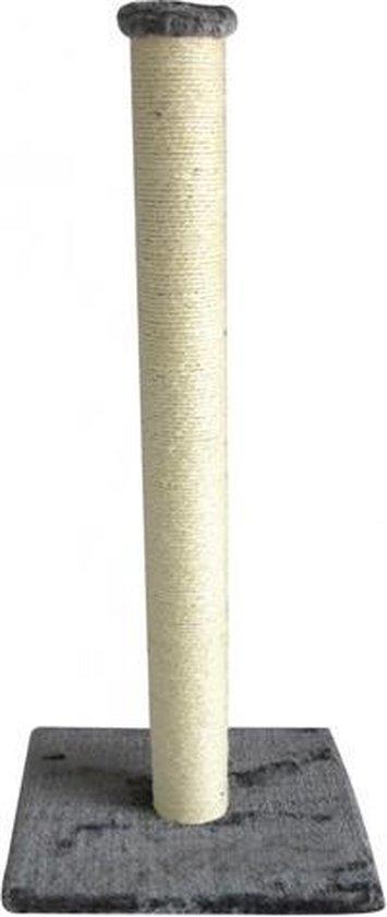 Ebi Classic Eco Highpost - Krabpaal - Grijs - 40 x 40 x 90 cm