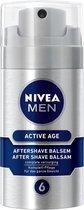 NIVEA MEN Active Age - 75 ml - Aftershave Balsem