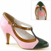 Pin Up Couture Pumps -38 Shoes- PEACH-03 US 8 Roze