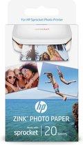 HP Sprocket zelfklevend fotopapier - 20 stuks