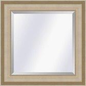 Klassieke spiegel Academie Zilver medium 53mm          Buitenmaat 61x71cm