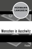 Boek cover Menschen in Auschwitz van Hermann Langbein