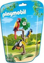 PLAYMOBIL Papegaaien en toekan