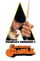 Clockwork Orange Stanley Kubrick filmposter 61x91.5cm.