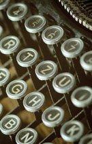 The Hacker-Proof Internet Address Password Book - Vintage Typewriter