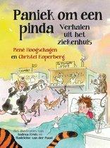 Boek cover Paniek om een pinda van Rene Hoogschagen