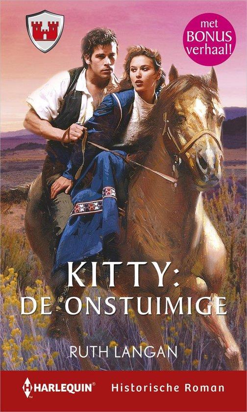 Harlequin- Kitty: de onstuimige ; Verleiding als spel (2-in-1) - Ruth Langan |