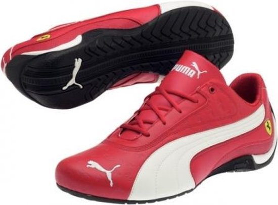 bol.com | Puma Ferrari Drift Cat Ii Heren Sneaker Rood Wit ...