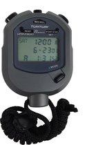 Tunturi Stopwatch - Digitale Stopwatch - Sport stopwatch - met 20 Geheugens voor Tijd - Multi