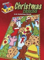 3-D Coloring Book - Christmas Designs