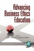 Boek cover Advancing Business Ethics Education van Diane L. Swanson