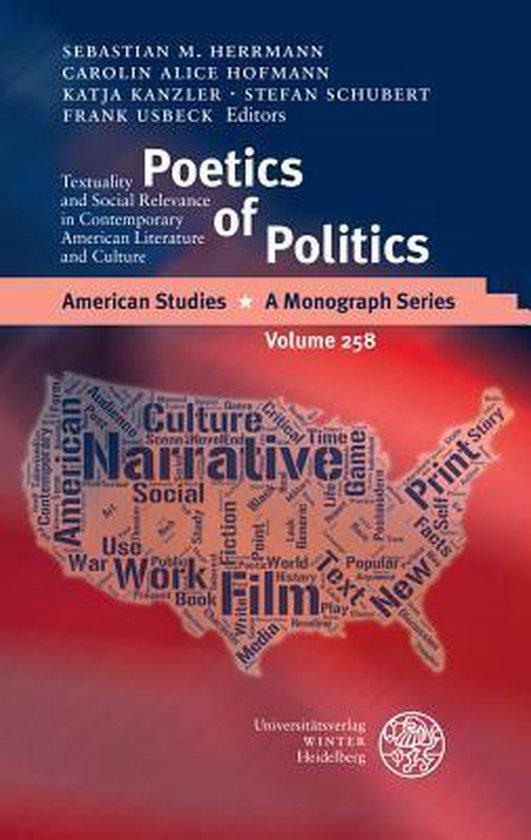 Boek cover Poetics of Politics van  (Hardcover)