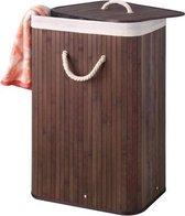 Perel Wasmand - Bamboe - Rechthoekig - Bruin - 40 x 30 x 60 cm