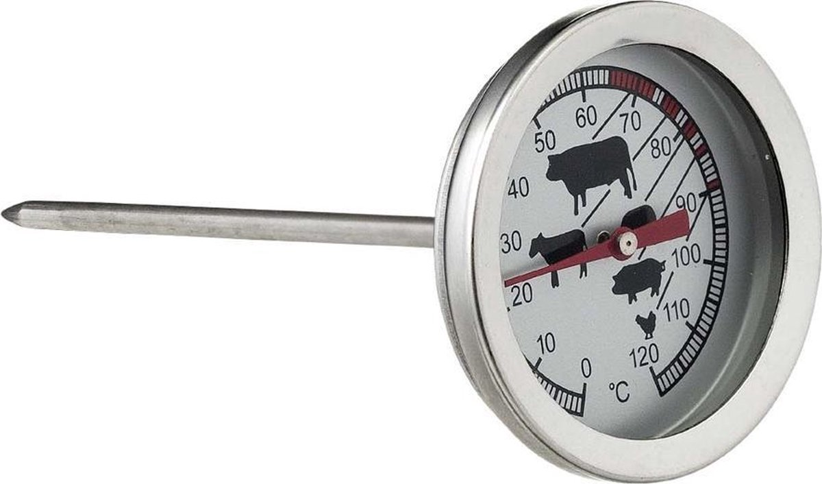 Vleesthermometer - braadthermometer RVS