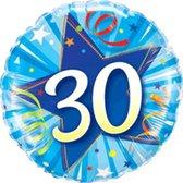 Folieballon 30 jaar