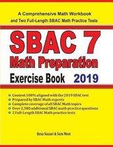 SBAC 7 Math Preparation Exercise Book