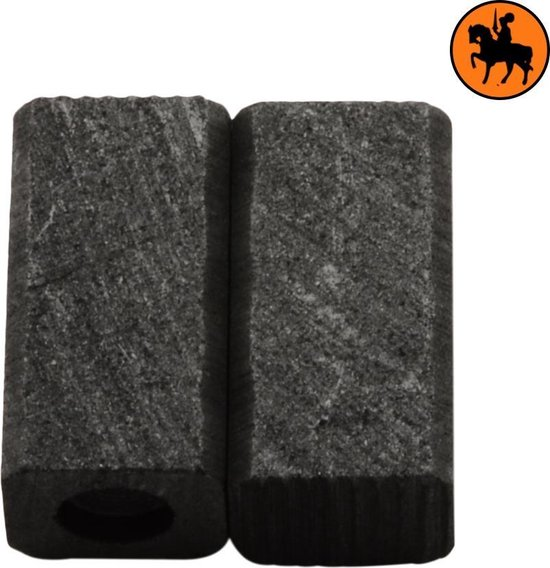 Koolborstelset voor Black & Decker GT530SB - 6x7x13mm