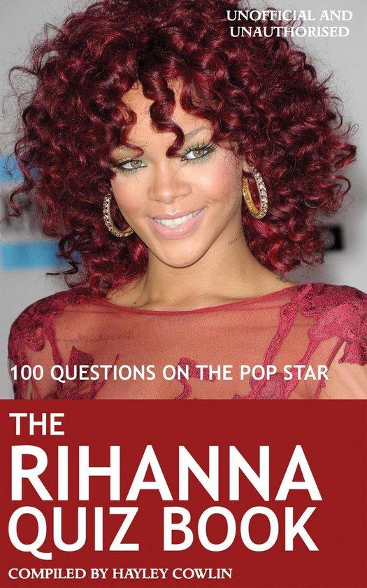 Afbeelding van The Rihanna Quiz Book