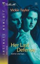 Omslag Her Last Defense