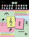 Afbeelding van het spelletje Complete Color Coded Flash Cards : For All Beginning Music Students