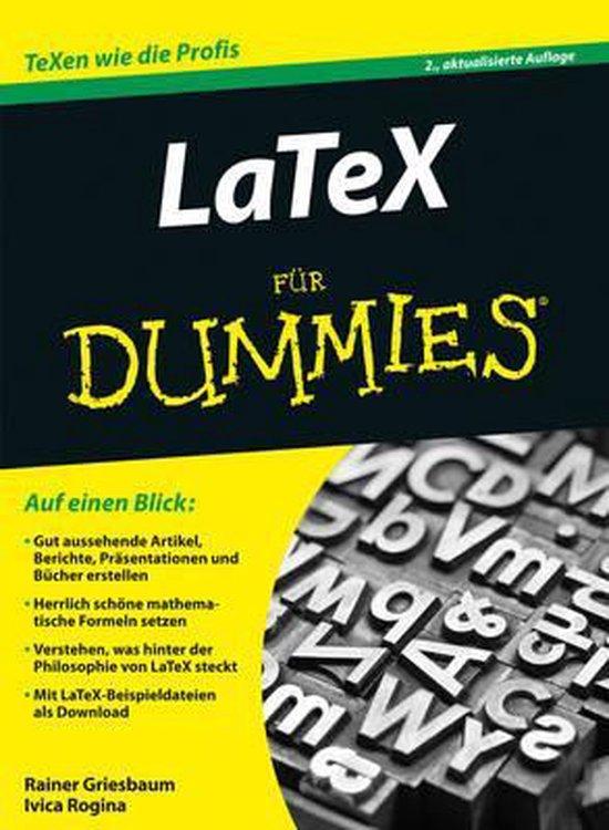 LaTeX fur Dummies