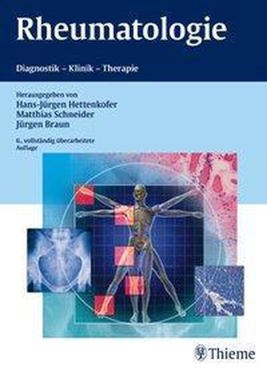 Boek cover Rheumatologie van Bernhard Homey (Onbekend)